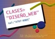Clases y cursos de diseño web !!