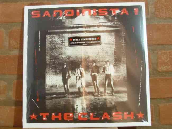 Vendo  The Clash Sandinista 3 Vinilos 180 Gr .(remasterizado 2013)