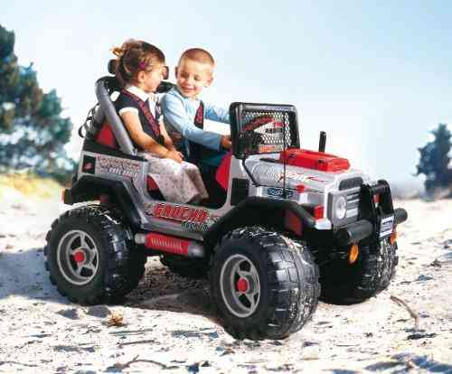 Peg Perego Gaucho Jeep Battery : Jeep gaucho silver peg perego v