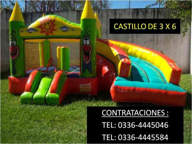 castillo inflable venta