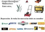 Taller mecánico de máquinas de jardineria y campo