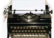 Corrección de textos: monografías, tesinas, etc.