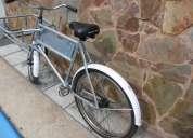 bicicleta de reparto bianchi , muy buena, c/canasto r.26
