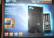 Vendo sintonizadora de tv externa noganet