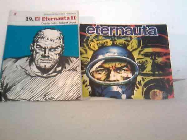 """Oferta Libros """"El Eternauta"""" Parte 1 y 2"""
