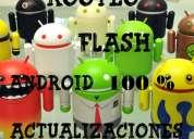 Realizamos rooteo,flasheo,actualizaciones de android (rosario)