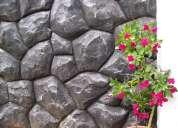 Revestimiento simil piedra antihumedad exterior/int $170 colocado