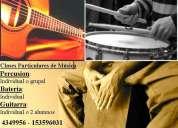 Clases particulares de musica