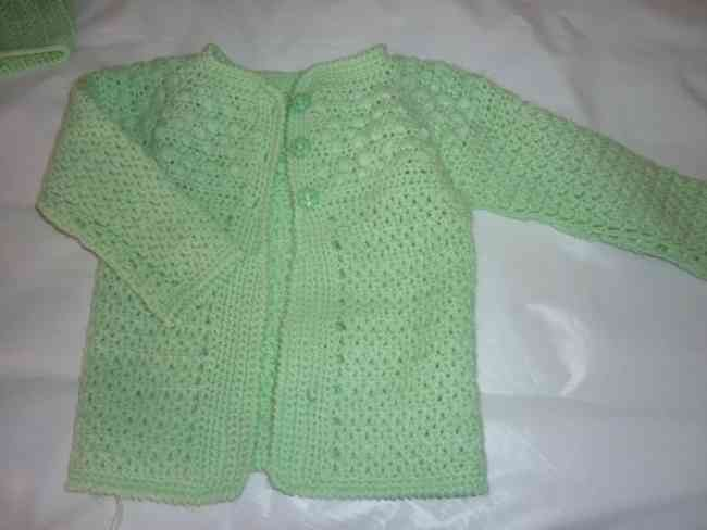 Saquitos para bebes Crochet