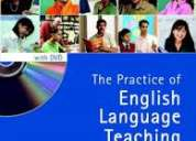 Libro de ingles the practice of english language teaching