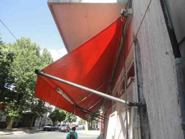 Toldo rebatible retractil lona de 4 metros la plata la for Toldo retractil precio