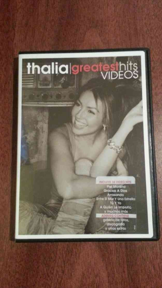 Vendo Thalia Greatest Hits Videos Dvd