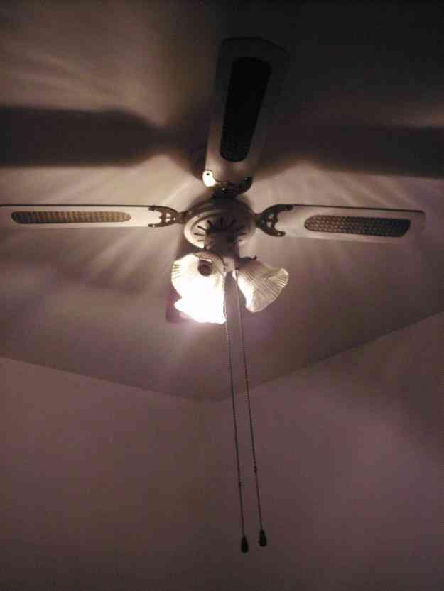 Ventilador de techo con luz y tulipas capital federal villa urquiza doplim 140241 - Precio de ventilador de techo ...