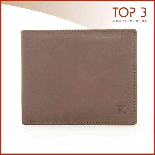 Vendo Billetera Marrón TOP3