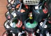 Damajuanas vacias de 5 lts.en perfecto estado(vino)