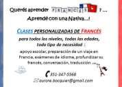 Clases de francés con nativa