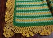 Mantitas para bebes artesanal al crochet