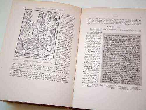 Origenes del Arte tipografico en America- G. Furlong LIBRO ANTIGUO