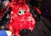 Perro rojo // vaquita de san antonio de peluche súper suave hermoso impecable