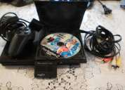Play station 2 con memory joistick y 30 juegos y caja
