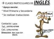 Clases de ingles..