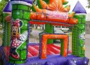 Alquilo inflable disney