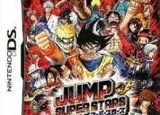 Jump ultimate stars para nintendo ds