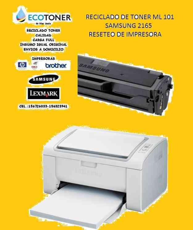 Nuevo reset virtual impresora samsung 2165