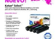 Toner laser nuevo para impresoras hp, samsung y brother