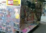 Liquido parada de diarios y revistas