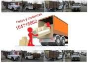 Servicio de mudanzas y fletes llamar 154716862