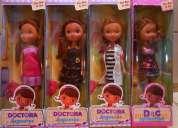 "Muñeca ""doctora juguetes ""  promo  $ 35"
