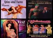 Venta dvds instructivos de danza arabe