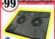 Base notebook noganet nf-504 - 2 coolers - villa crespo