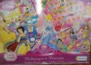 Juego de mesa de las princesas, varios juegos en uno