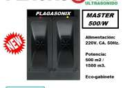 Erradicador ultrasonico de aves plagasonix master 500/w