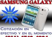 Compra venta samsung galaxy s4 s5 4743-4034 pago efectivo en el acto