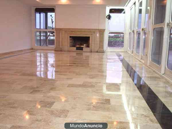 Pulido al diamante vitrificado marmol travertino ofertas Ceramicas castro outlet