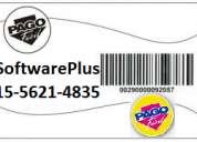 Codigos de barras en formato credencial para pago facil