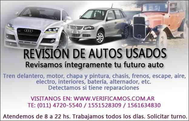 Revision De Autos Usados A Domicilio General San Mart N