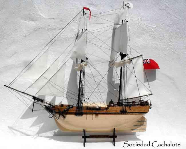 Barcos y veleros a escala de madera replicas - Antiguedades de barcos ...