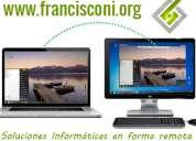 Servicio técnico pc - www.francisconi.org - reparación de pc online