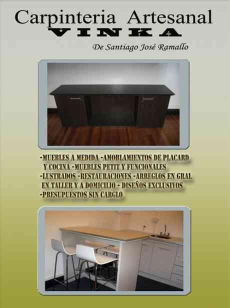 carpinteria artesanal vinka muebles a medida capital