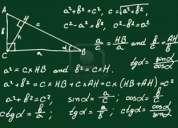 Clases particulares matematica secundario cbc