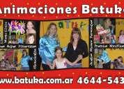 Animacion infantil en zona norte | te 4644-5432 | batuka