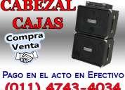 Compra venta cabezal cajas 4743-4034