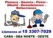 Plomero villa crespo -  *15-33077029*