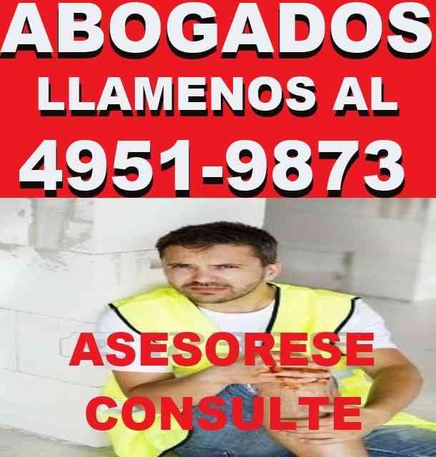 ABOGADOS LABORALES,ACCIDENTES DE TRABAJO , EN CAPITAL