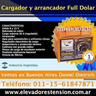 Cargadores de baterias inteligentes  San Miguel Contacte Tfno. [011]156184-7871