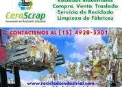 Rezagos y residuos industriales venta compra en lanús  (15) 4928-5301